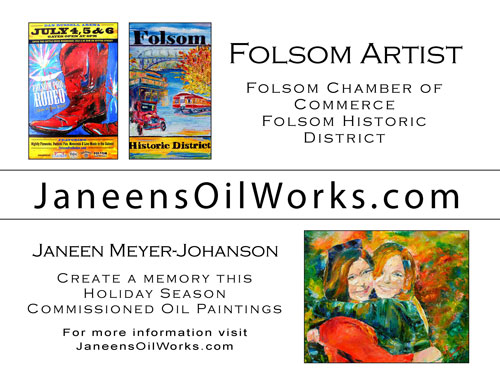 Janeen's Oil Works by Janeen Meyer-Johanson